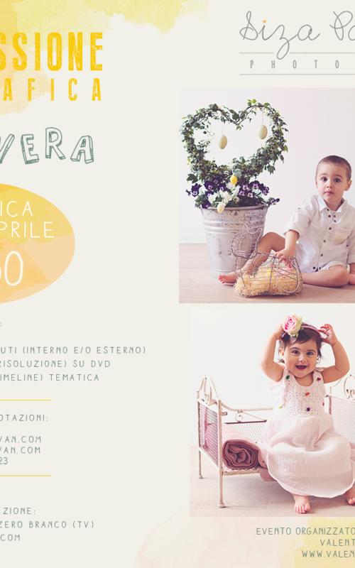 Mini sessione fotografica di PRIMAVERA   Fotografo bambini Venezia Treviso Padova Veneto