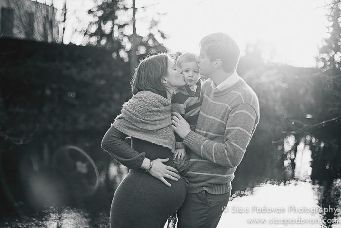Workshop fotografico di gravidanza e neonati